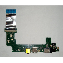 Placa De Áudio + Usb Netbook Asus Eee Pc X101ch X101c