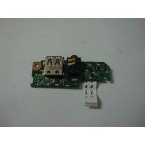 Placa Usb E Audio Netbook Hp Mini 110-1020br