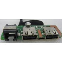 Placa Usb Completa P/ Notebook Itautec W7410 / W7415