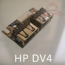 Cx29.1 - Placa Conector Usb Hp Dv4 Compaq Cq40 C45 Séries