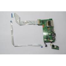 Placa Usb Lan Flat Power Notebook Microboard Iron I5xx I3xx