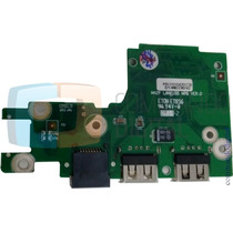 Placa Usb E Ethernet Para Notebook Microboard U342