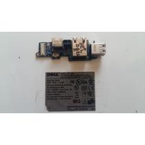 Placa Usb Rede Fax Microfone Rabicho Not Dell Latitude D620