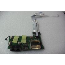Placa Usb E Rede Notebook Microboard Iron I585 I5xx/i3xx