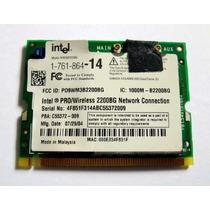 Placa Mini Pci Wireless Notebook Vaio Vgn-s150 Vgn-s380 V505
