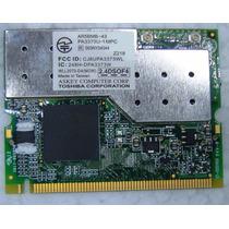 Placa Mini-pci Wireless Qualcomm Atheros Ar5bmb-43 Wll3070-d