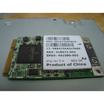 Paca Wireless Pci Notebook Compac Presario C700 Hp Net Full