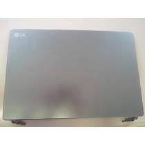 Lg Notebook P430 Carcaça Tampa Lcd Em Aluminio Com Dobradiça