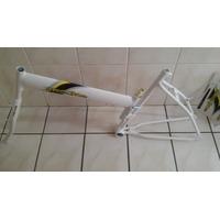 Quadro De Bicicleta Modelo Maria Mole Cor Branco!!