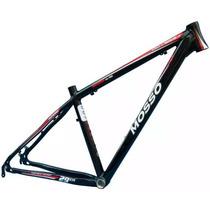 Quadro Bicicleta Mtb Mosso Odyssey 29 Preto E Vermelho
