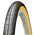 Pneu Slick Kenda Aro 26x1.50 Faixa Amarela Para Bicicletas