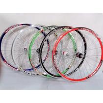 Rodas Completas Aro 26 Com Pneu E Câmara Bike Vip