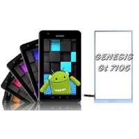 Tela Vidro Touch Gt 7105 Tablet Genesis Original 7 Polegadas
