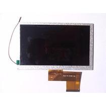 Tela Vidro Display Lcd Tablet Lenoxx Tb50 Tb55 7 Polegadas
