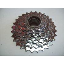 Roda Livre Catraca 7 Marchas Bicicleta Mtb 11 28 Dentes 21 V