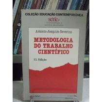 Livro - Metodologia Do Trabalho Científico - Antonio Joaquim