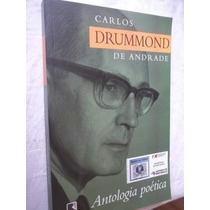 Livro - Carlos Drumond De Andrade - Literatura Nacional