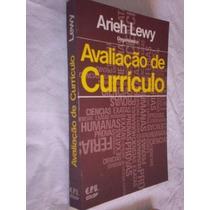Livro - Avaliação De Curriculo - Pedagogia