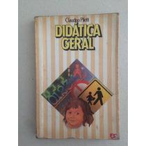 Livro Antigo - Didática Geral - Claudino Piletti !!!