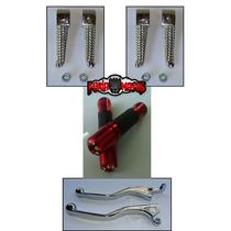 Kit Cb300, Twister Pedaleira, Mini Manetes, Manoplas C/ Peso
