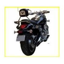 Bagageiro Sissy Bar Encosto Harley Xl 883 Xl 1200 Jj