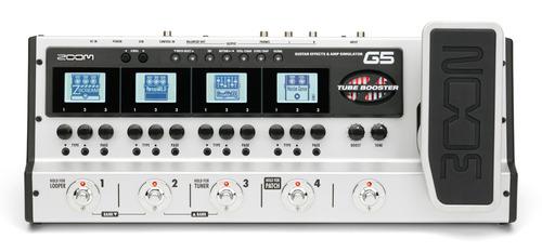 Pedaleira Zoom G5 Usb + Fonte : Superior G2.1 G3 G7.1 G9.2