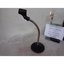 Antigo Pedestal Profissional De Mesa Microfone Estudio Radio