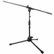 1 Suporte Pedestal P/ Microfone,bumbo,violão,amplificador.