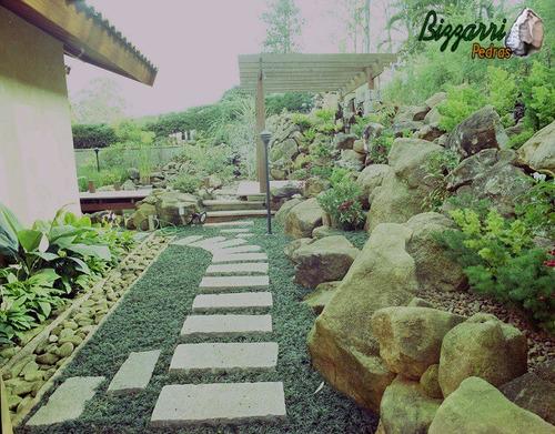 pedra jardim caminho:Pedra Folheta Para Caminho No Jardim – R$ 9,00 no MercadoLivre