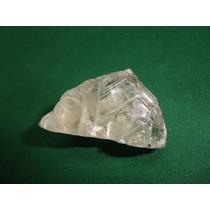 Topázio Incolor Pedra Terminada Mineral Bruto De Coleção