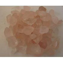 500grs Quartzo Rosa Sabonete * Pedra Bruta P/ Coleção * Eart