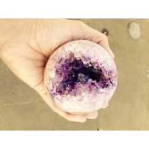 Bola Esfera Ametista Quartzo Cristal Pedra Mineral