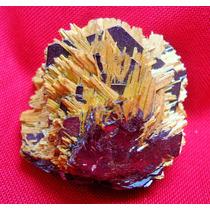 Rutílio Com Hematita - Super Amostra Mineral!!! Pedropedra!!