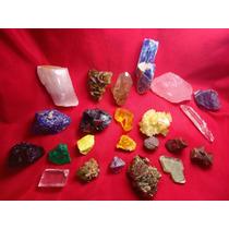 Coleção 49 Minerais Ultraselecionados!!!a Melhor Da Net!!!!