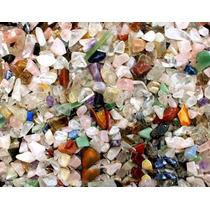 1 Kg Cascalho Colorido Misto 1kg Varias Pedras Para Aquario