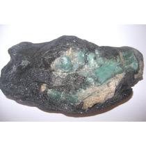Natural Pedras Linda Esmeralda Na Matriz Especial De Coleção