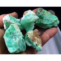 Uma Pedra Crisoprásio Natural Bruto
