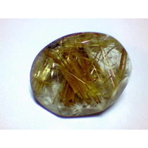 Cristal Rutilado; Gema Oval 19,2x15,8mm 13,8 Cts *mnbras*