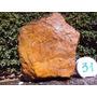 Pedra Bruta Jaspe Amarelo Natural 16,5kg - Frete Grátis!