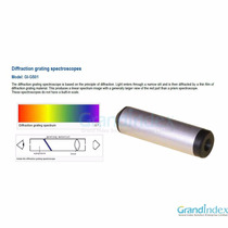 Espectroscópio Portátil Gemologia Geologia Difração
