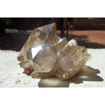 Cristal Quartzo Bruto Transparente Drusa Pinha