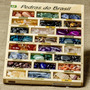 Caixa Com Coleção De Pedras Semipreciosas Brasileiras Grande