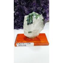 Pedra P/ Colecionador - Turmalina Verdel Bruta 5cm - Cod.03