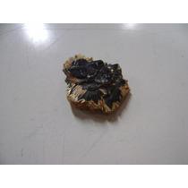 Natural Pedras Hematita Com Rutilo Dourado Peça Espelhada