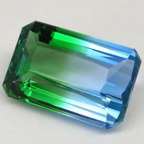 Enorme Bi-color Ametrine Octagonal 14,30 Cts.