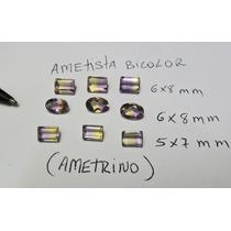 Dal Corsi - Ametrino - Ametista Bicolor 6x8mm Só 20,00
