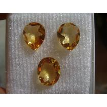 Natural Pedras Citrino Cor Excelente Para Brincos E Anel