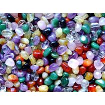 Pedras Mistas Roladas/1/2 Kilo - 50 Pedras/ No Atacado !