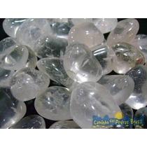 Cristal De Quartzo Rolado/2 Kilo - 200 Pedras/ No Atacado !
