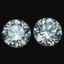 Maravilhoso Par De Diamantes Naturais Vvs1 Com 60 Pontos!!!